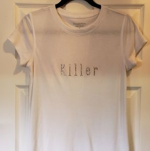 "Simply by Vera Wang ""Killer"" t-shirt"